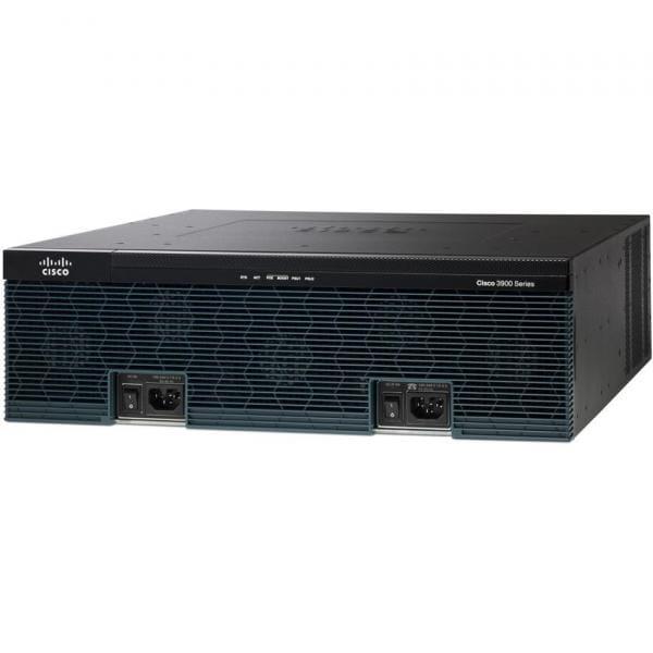 Cisco Systems C3945E-VSEC-CUBEK9 Cisco 3945E Eingebauter Ethernet-Anschluss Schwarz Kabelrouter | C3945E-VSEC-CUBEK9