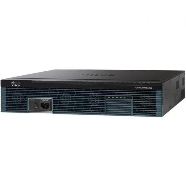Cisco Systems C2921-VSEC/K9 Cisco 2921 Eingebauter Ethernet-Anschluss Schwarz Kabelrouter | C2921-VSEC/K9