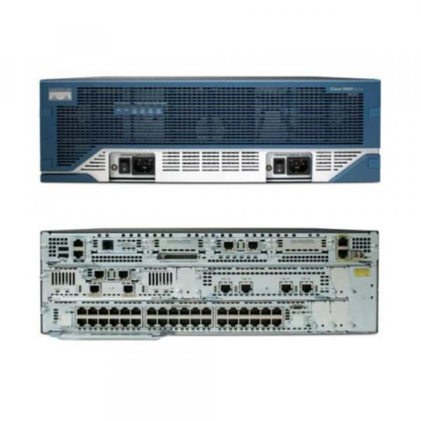 Cisco Systems C3845-VSEC-CUBE/K9 Cisco 3845 Eingebauter Ethernet-Anschluss Mehrfarben Kabelrouter | C3845-VSEC-CUBE/K9