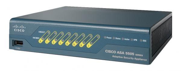 Cisco Systems ASA5505-SSL10-K9 Cisco ASA 5505 1U 150Mbit/s Firewall (Hardware) | ASA5505-SSL10-K9
