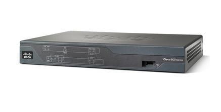 Cisco Systems CISCO892F-K9 Cisco 892F Eingebauter Ethernet-Anschluss Grau Kabelrouter   CISCO892F-K9